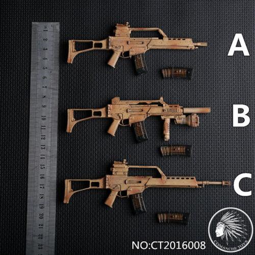 1//6 CT2016008A//B//C German G36 Rifle Gun Model Weapon Toy Fit 12/'/' Soldier Figure