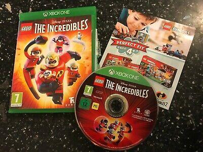 XBOX ONE LEGO DISNEY PIXAR THE INCREDIBLES COMPLETE disc ...