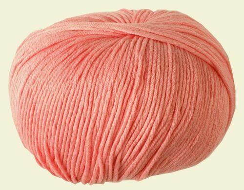 N98 DMC Natura Yummy Just Cotton Crochet Knitting Yarn Wool Gerbera 50g