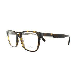 3591e0a5a6b Prada Glasses Frames PR 06UV 2AU1O1 Havana Mens 52mm 8053672781083 ...