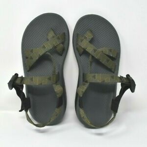 Men-039-s-CHACO-Z2-CLASSIC-Green-Pattern-Strap-Sport-River-Sandals-US-7-UK-6-EU-40