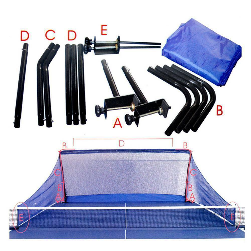 Table Tennis Ball Catch Net Ping Pong Training Equipment Serve Robot Practice