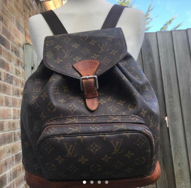 Skoletaske, Louis Vuitton, Vintage Louis Vuitton købt i…