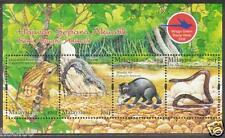 MALAYSIA 2006 Semi Aquatic Animals MS Mint MNH