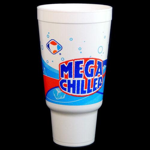 Mega Chiller Design 32 Series Lid NEW Dart 44AJ32H Case Of 300 Foam Cups 44 oz