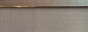 Filo in acciaio inox tessuto con larghezza MAGLIA 0,8mm, 0,32mm filo spessore, 50 CM x 40 cm