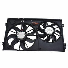 Temic Style Radiator Cooling Dual Fan Assembly for Volkswagen Jetta Rabbit