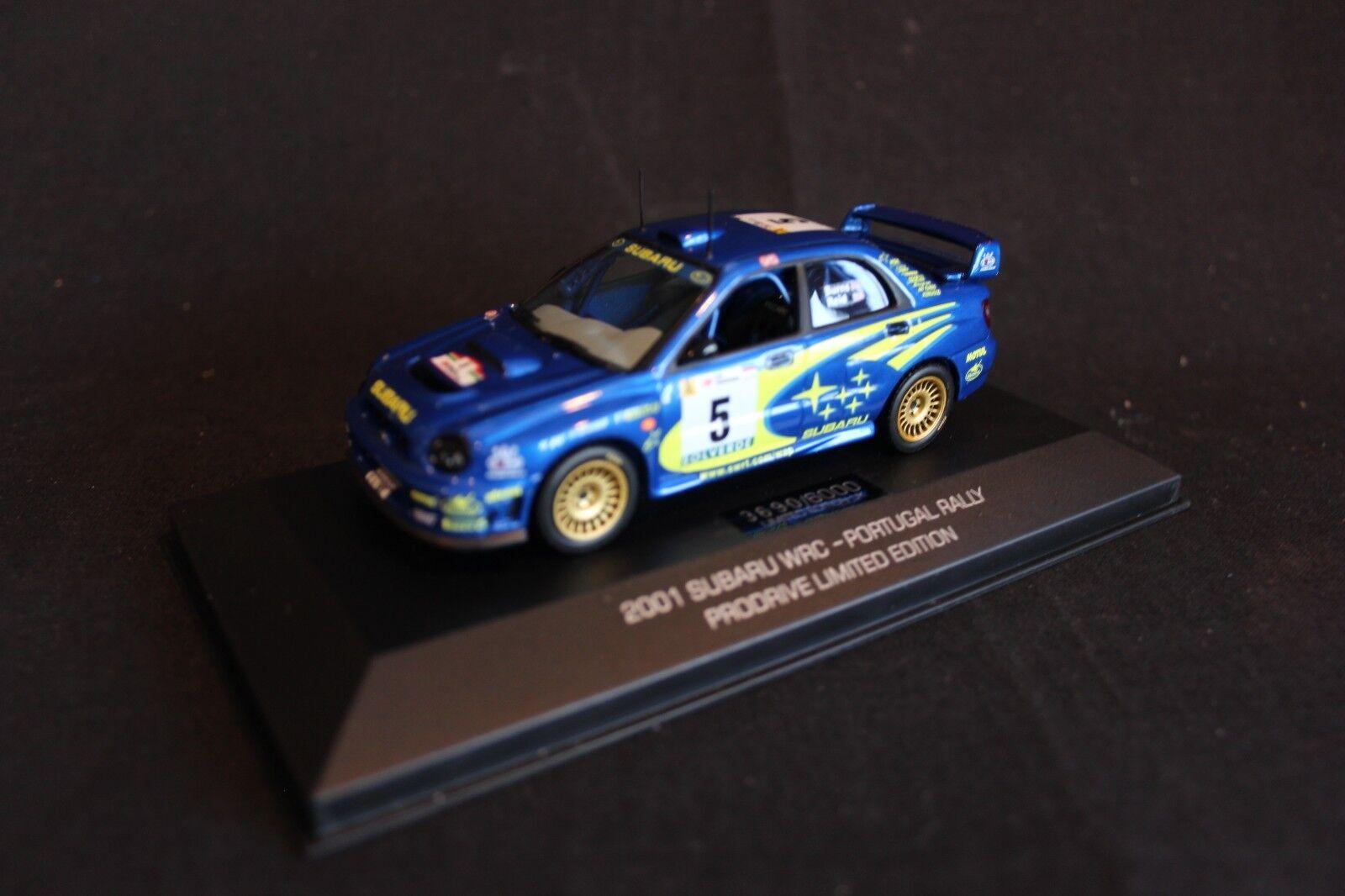 Prodrive Subaru Impreza WRC 2001 1:43  5 Burns / Reid Rallye Monte-Carlo