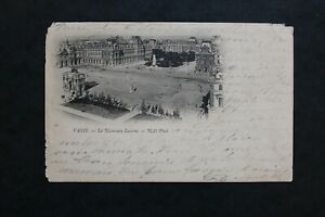 Tarjeta-Postal-CPA-Paris-El-Nuevo-Louvre