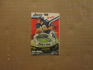 CFL-Toronto-Argonauts-Vintage-Circa-1989-Logo-Football-Pocket-Schedule