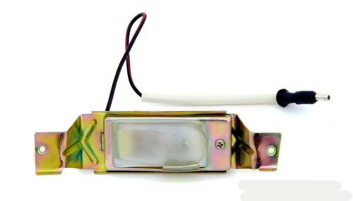 NEW 1971-1973 Ford Mustang License Plate Light Lamps Tag Light Rear w//Lens