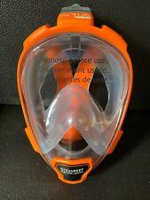 Ocean Reef Aria Full Face Mask With Ppe Adapter Orangemediumlarge