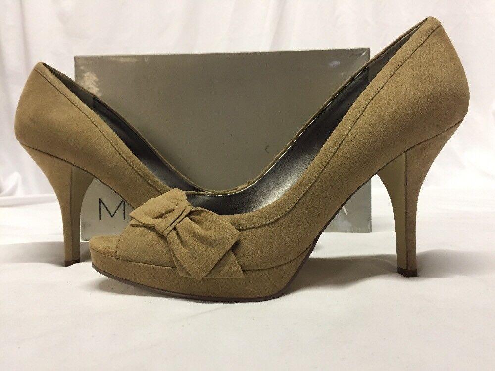 Marc Fisher MANILLA 2 Damens's Heels Schuhes, Khaki, Größe 10 M