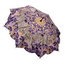 Galleria Auto Stick Umbrella - Van Gogh Iris