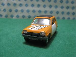 Vintage-RENAULT-5-TL-1-43-Jet-Car-de-Norev-n-711