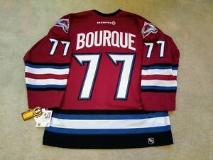 sports shoes 1408b 8ba1f Details about RAY BOURQUE #77 Colorado AVALANCHE ❄ 3rd KOHO Maska Authentic  NHL PRO Jersey NWT