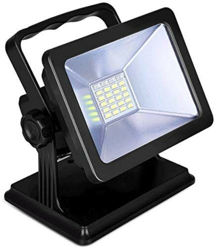 GOESWELL Work Light Rechargeable Floodlights Inspection Lamp Torch Outdoor Ca...