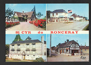 SAINT-CYR-du-RONCERAY-14-VILLAS-STATION-ESSENCE-TOTAL-amp-MAISON-de-REPOS-1971