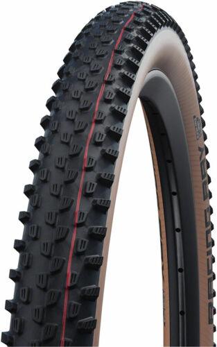 Black//Transparent, Folding Tubeless 29 x 2.35 Schwalbe Racing Ray Tire