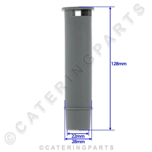 PRODIS PROJECT 60790 DRAIN OVERFLOW PIPE 28mm DIAMETER 128mm LENGTH DISHWASHER