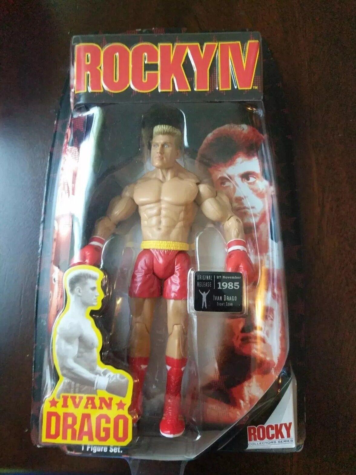 2007 Jakks Pacific Rocky 4 Ivan Drago Figura Nuevo