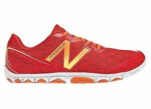 Details about Original New Balance Minimus MR10 RY2 MR10RY2 Running Shoes Men's- Red and White