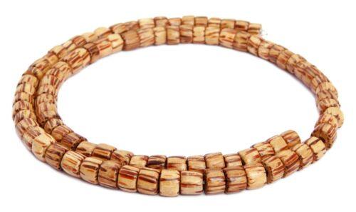 Kokospalmholz Perlen Räder ~6 x 4-5 mm Holzperlen Palmholz Naturperlen H.KO-9
