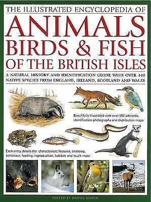 The Illustrated Encyclopaedia of Animals, Birds and Fish of British Isles: A Nat