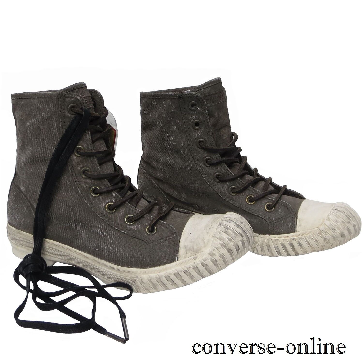 CONVERSE All Star Star Star JOHN VARVATOS Painted Canvas BOSEY HI Trainers Stiefel SIZE UK 9 588d69
