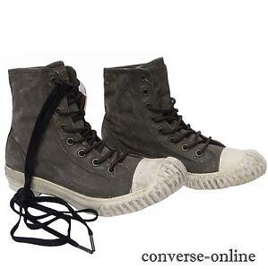 Converse All Star John Varvatos TELA DIPINTA Bosey Hi Scarpe da ginnastica Stivali TAGLIA UK 9