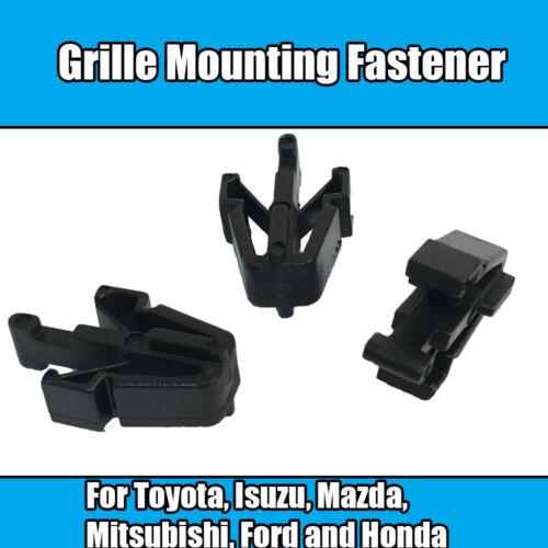 20x Clips pour Toyota Calandre montage attache Isuzu Mazda Mitsubishi Ford Honda