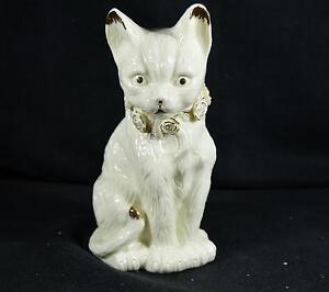 Beautiful Formalities by Baum Bros Large Porcelain Cat Figure/Statue