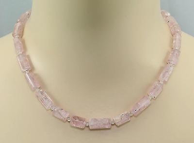 Kreativ Morganitkette Rosa Beryll Morganit Kristall Mit Mondstein Halskette Damen 180 Kt Farben Sind AuffäLlig