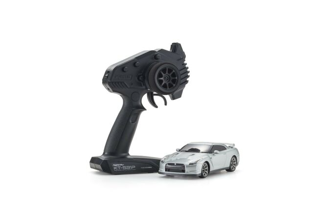 Kyosho Mini-Z RWD Nissan GTR R35 Ultimate Plata Metálico ( N-Rm / KT531P) 32331S
