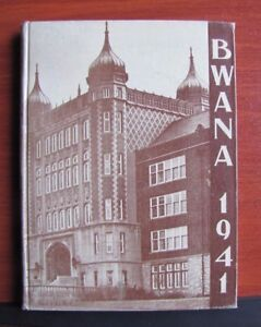 BWANA-1941-Yearbook-annual-Roosevelt-High-School-St-Louis-MO-Missouri
