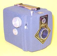 Dacora Daci Royal - Green Metal Box Camera in very good condition w/Box & Instr