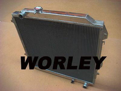 Aluminum radiator for Hilux Surf KZN185 3.0L Diesel 1996-2002 manual