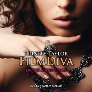 FilmDiva-Erotisches-Hoerbuch-1-CD-von-Trinity-Taylor-blue-panther-books