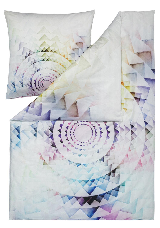 Estella Mako-Satin Wendebettwäsche CIRCLE multiFarbe 100% Baumwolle Abstrakt