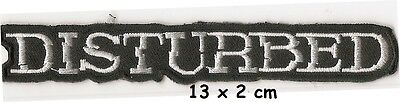 Disturbed - logo patch - FREE SHIPPING
