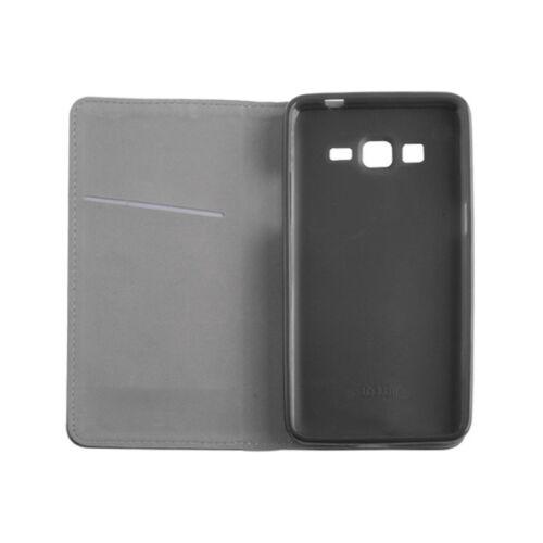 funda piel sintética negro ^ para Nokia 6.1 plus Smart imán funda bolsa móvil