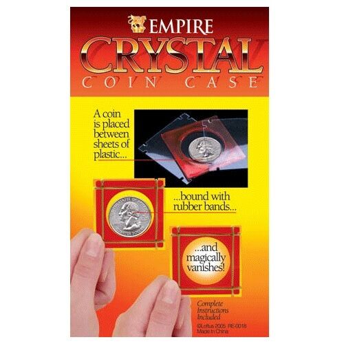 Empire Crystal Coin Case Magic Trick Easy To Do Trick