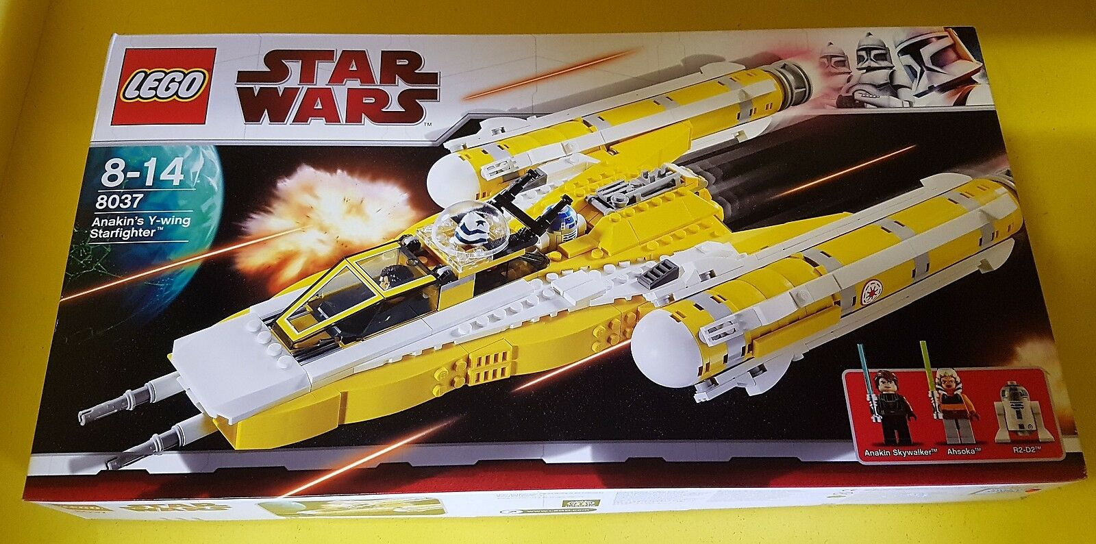 Lego Star Wars 8037 Anakain´s Y-Wing Starfighter
