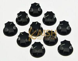 10x import size small jazz j bass tone knob guitar effect pedal knobs black ebay. Black Bedroom Furniture Sets. Home Design Ideas
