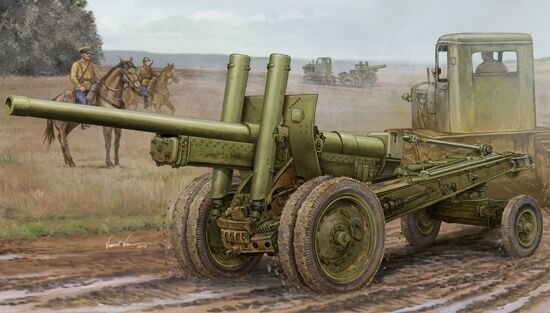 Soviet A-19 122mm Gun 1931-37 Plastic Kit 1 35 Model 2325 TRUMPETER