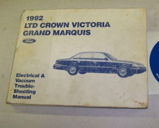 1992 Ford Ltd Crown Victoria Mercury Grand Marquis