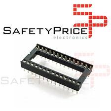 DIP 22,86mm PIN 64 Polyester vergoldet UL94V-0  1A GOLD 64P Präzisionss Sockel