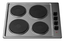 Kitchenplus KP20 in acciaio inox 4 zone cottura elettrico forno - 60 cm-Gratis P&P