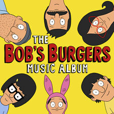"Bob's Burgers Music Album (Deluxe) +MP3s & Extras NEW COLORED VINYL 3 LP BOX +7"""