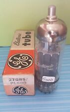 1 GE Amperex  27GB5 / PL500 Vacuum Tube  Tested New On Calibrated Hickok